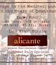 Alicante Spanish Mediterranean Cuisine