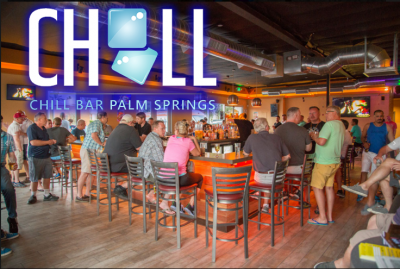 Chill Bar Palm Springs – 25 Bonus Points! SUMMER SPECIAL DEAL!